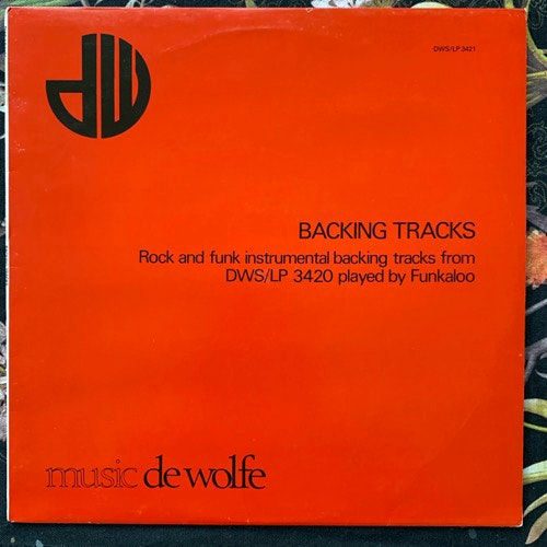 FUNKALOO Backing Tracks (Music De Wolfe - UK original) (VG+) LP
