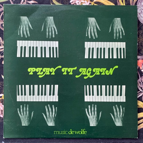 HOT FUDGE Play It Again (Music De Wolfe - UK original) (VG+) LP