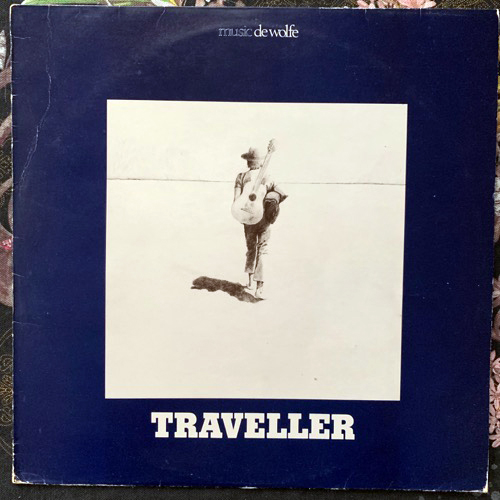 JOHN SAUNDERS Traveller (Music De Wolfe - UK original) (VG/VG+) LP