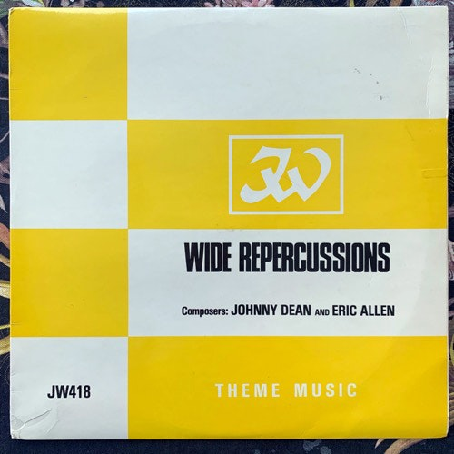 JOHNNY DEAN, ERIC ALLEN Wide Repercussions (JW Theme Music - UK original) (VG+/EX) LP