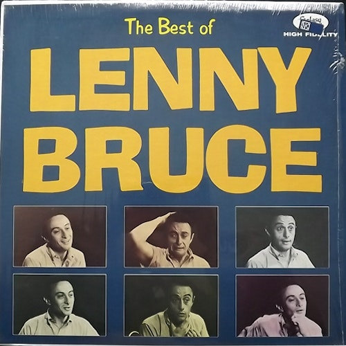 LENNY BRUCE The Best Of Lenny Bruce (Fantasy - USA reissue) (EX) LP