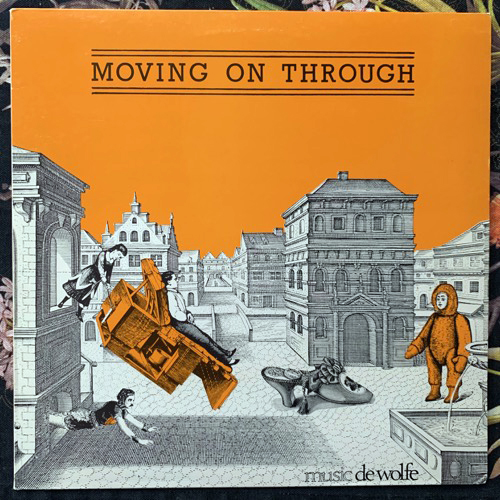PARADOX Moving On Through (Music De Wolfe - UK original) (VG+) LP