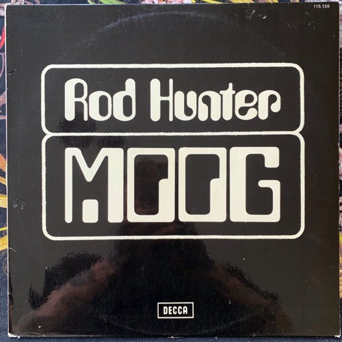 ROD HUNTER Moog (Decca - France original) (VG+) LP