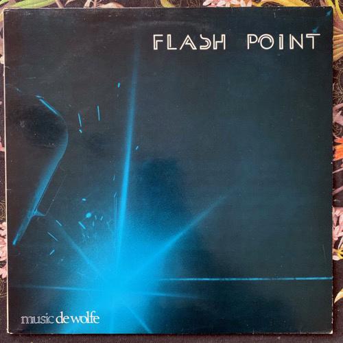 ROGER JACKSON Flashpoint (Music De Wolfe - UK original) (VG+/EX) LP