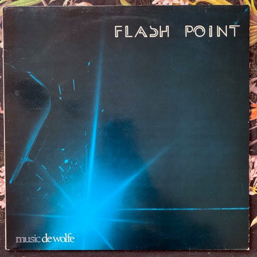 ROGER JACKSON Flashpoint (Music De Wolfe - UK original) (VG+/EX) LP