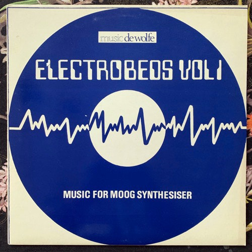 RONALD MARQUISEE Electrobeds Vol. 1 - Music For Moog Synthesizer (Music De Wolfe - UK original) (VG+) LP