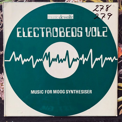 RONALD MARQUISEE Electrobeds Vol. 2 - Music For Moog Synthesizer (Music De Wolfe - UK original) (VG/VG+) LP