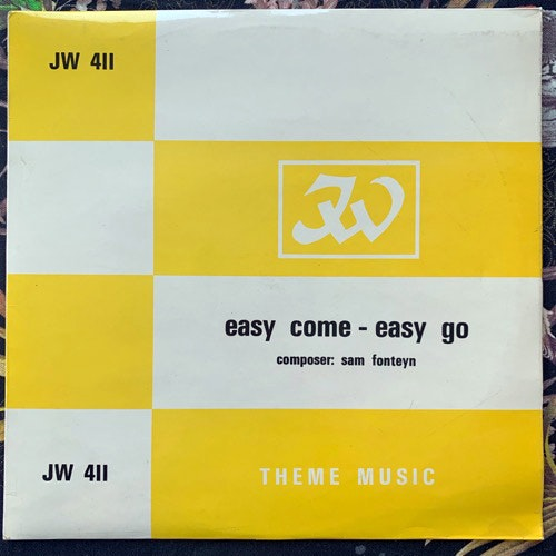 SAM FONTEYN Easy Come Easy Go (JW Theme Music - UK original) (VG+) LP