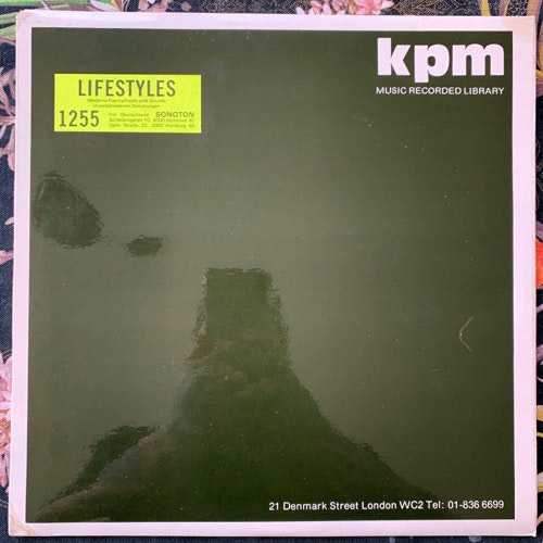 STANLEY MYERS/TONY KINSEY Lifestyles (KPM - UK original) (VG/EX) LP