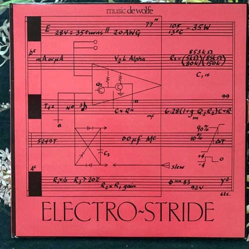 TAKE SIX Electro-Stride (Music De Wolfe - UK original) (VG+/EX) LP