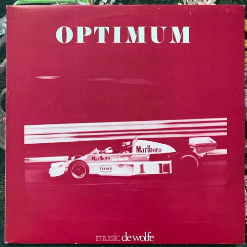 TEN PLUS Optimum (Music De Wolfe - UK original) (VG+/EX) LP