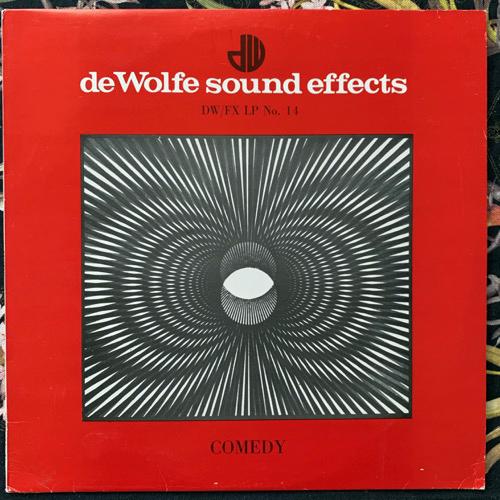 UNKNOWN ARTIST Comedy (Music De Wolfe - UK original) (VG+/EX) LP