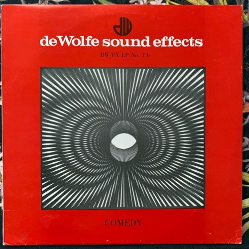 UNKNOWN ARTIST Comedy (Music De Wolfe - UK original) (VG+/EX) LP
