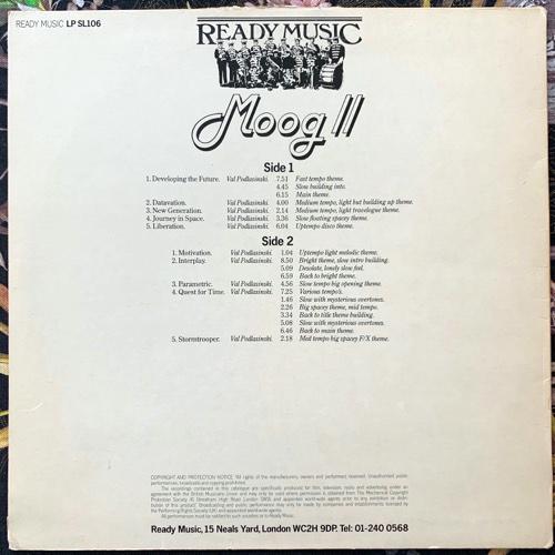 VAL PODLASINSKI Moog II (Ready Music - UK original) (VG/EX) LP