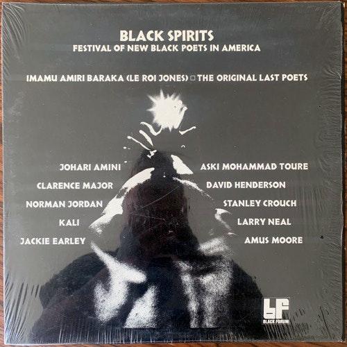 VARIOUS Black Spirits: Festival Of New Black Poets In America (Black Forum - USA original) (EX/NM) LP