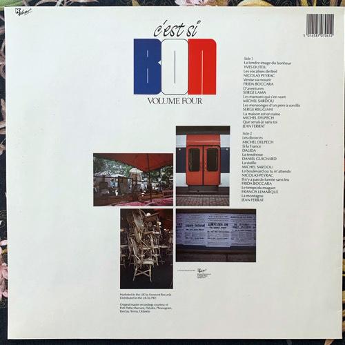 VARIOUS C'est Si Bon Volume Four (Kenwest - UK original) (EX) LP