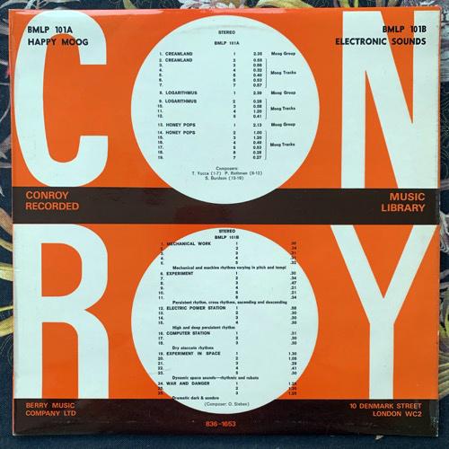 VARIOUS Happy Moog/Electronic Sounds (Conroy - UK original) (VG+) LP