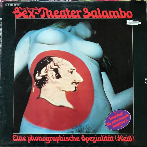 VARIOUS René Durand's Sex-Theater Salambo - Eine Phonographische Spezialität (Heiß) (Odeon - Germany original) (VG) LP