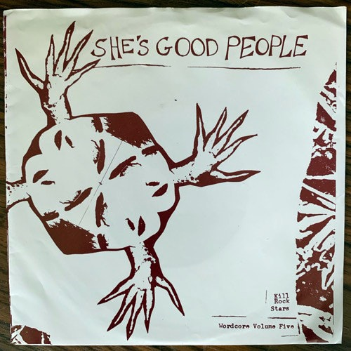 JULIANA LUECKING She's Good People (Kill Rock Stars - USA original) (VG+) 7""