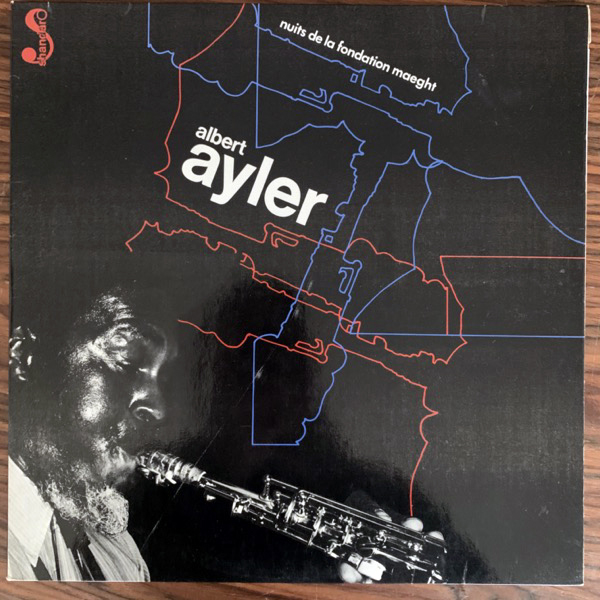 ALBERT AYLER Nuits De La Fondation Maeght (Shandar - France original) (VG+/EX) 2LP