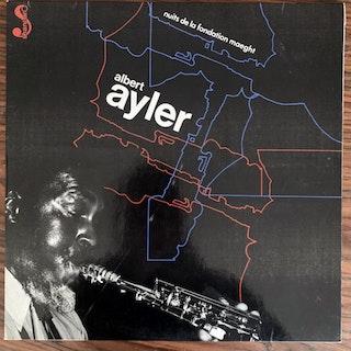 ALBERT AYLER Nuits De La Fondation Maeght (Shandar - France original) (VG+/EX) 2LP
