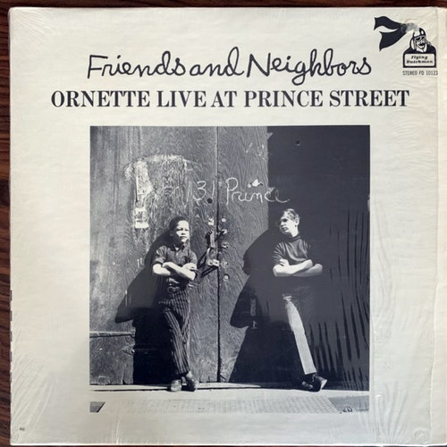 ORNETTE COLEMAN Friends And Neighbors - Ornette Live At Prince Street (Flying Dutchman - USA early reissue) (EX) LP
