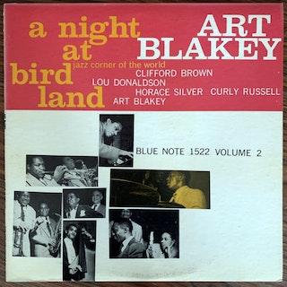 ART BLAKEY QUINTET A Night At Birdland, Volume 2 (Blue Note - USA 1963 mono repress) (VG+) LP