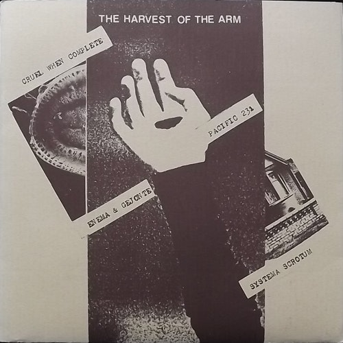 VARIOUS The Harvest Of The Arm (Börft - Sweden original) (EX/VG+) 7""
