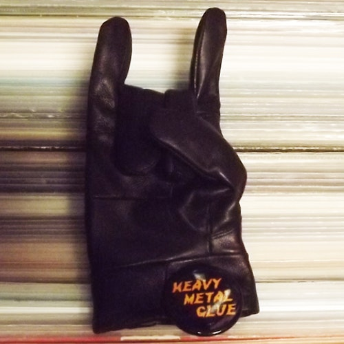 HEAVY METAL GLUE Heavy Metal Glue (Self released - Japan original) (NEW) TAPE
