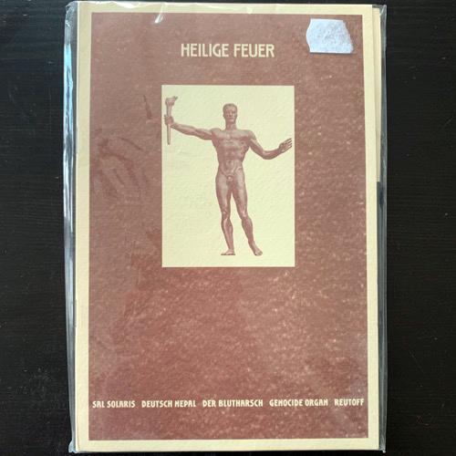 VARIOUS Heilige Feuer (Der Angriff - Russia original) (EX) CD