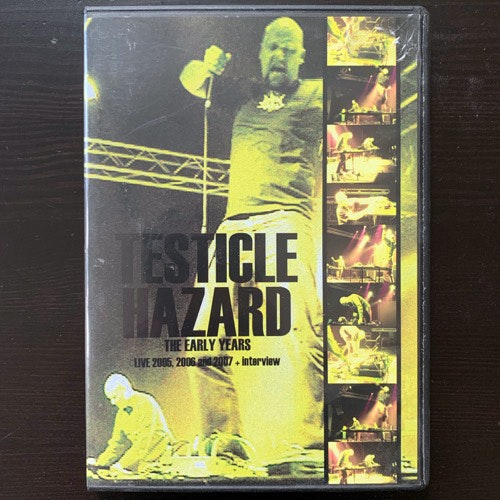 TESTICLE HAZARD The Early Years (Freak Animal - Finland original) (NM) DVD-R