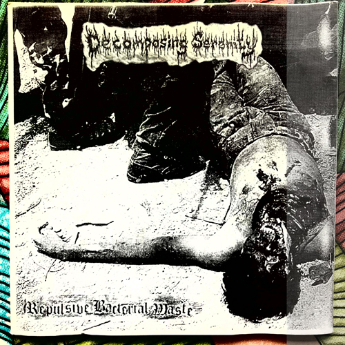 "SADISTIC LINGAM CULT/DECOMPOSING SERENITY Split (Bizarre Leprous - Czech Republic original) (EX/VG+) 7"""