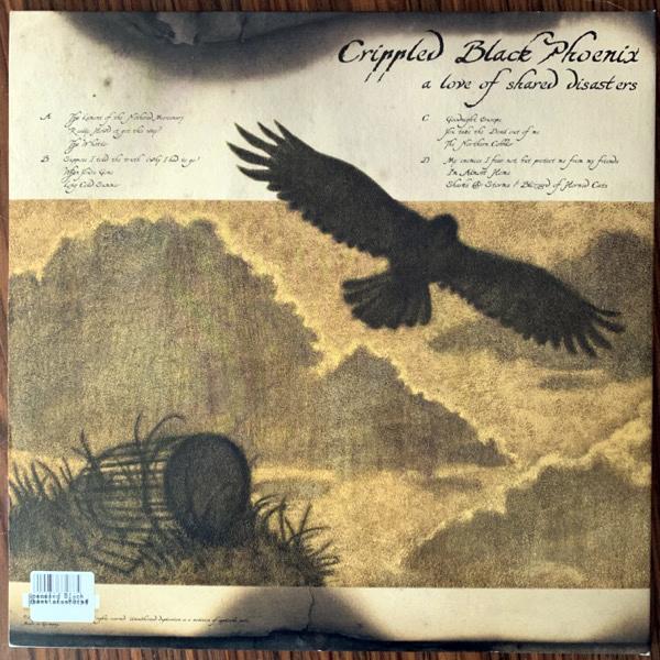 CRIPPLED BLACK PHOENIX A Love Of Shared Disasters (Kscope - UK reissue) (EX/NM) 2LP