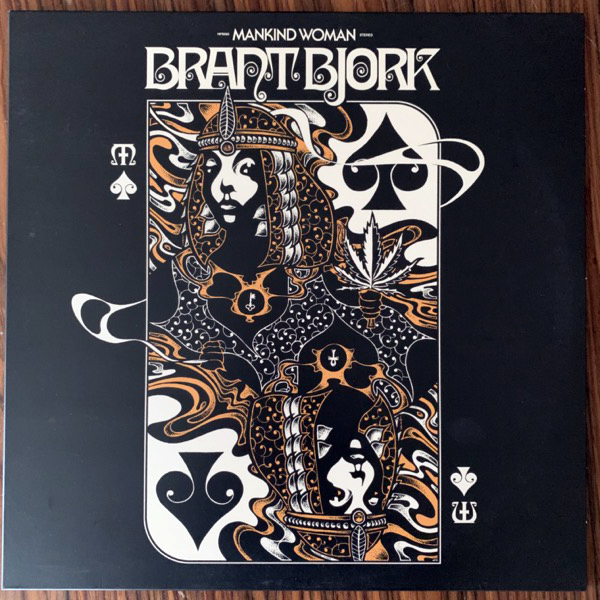 BRANT BJORK Mankind Woman (Heavy Psych Sounds - Europe original) (EX) LP