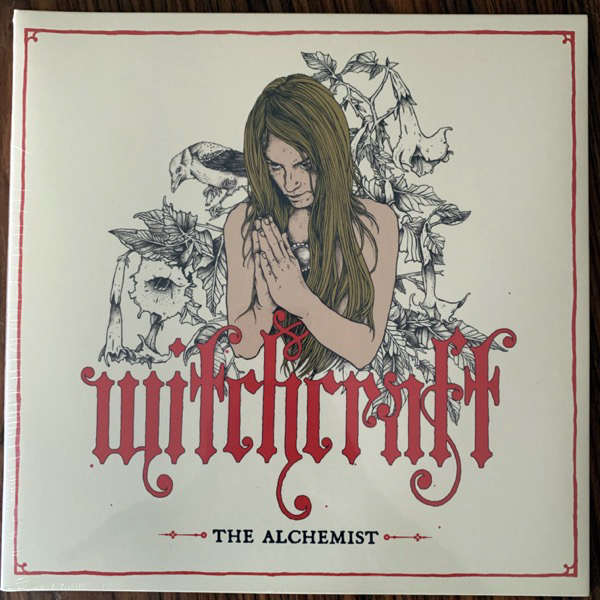 WITCHCRAFT The Alchemist (Rise Above - UK 2012 reissue) (NM/EX) LP