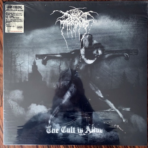 DARKTHRONE The Cult Is Alive (Peaceville - UK original) (SS) LP