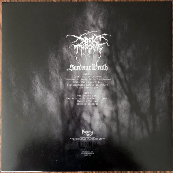 DARKTHRONE Sardonic Wrath (Moonfog - Norway original) (EX) LP
