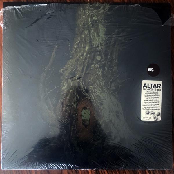 SUNN O))) & BORIS Altar (Brown vinyl) (Southern Lord - USA original) (EX) 3LP