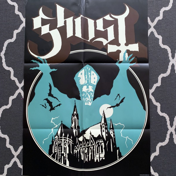 GHOST Opvs Eponymovs (Die hard ed. ltd to 300) (Rise Above - UK original) (VG+/EX) LP BOX