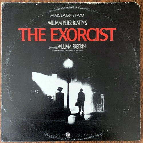 SOUNDTRACK The National Philharmonic Orchestra / Leonard Slatkin ‎– Music Excerpts From The Motion Picture The Exorcist (Warner - USA original) (G/VG+) LP