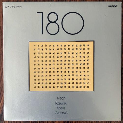 GROUP 180 Reich / Rzewski / Melis / Szemző (Hungaroton - Hungary original) (VG+/NM) LP