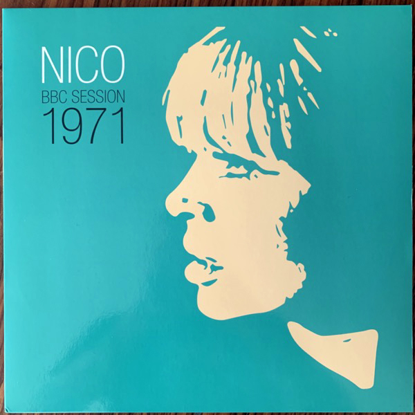 "NICO BBC Session 1971 (Gearbox - UK reissue) (EX/VG+) 12"""
