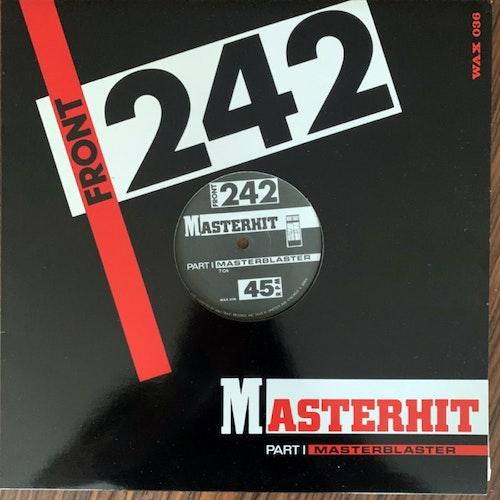 "FRONT 242 Masterhit (Wax Trax! - USA original) (EX) 12"""
