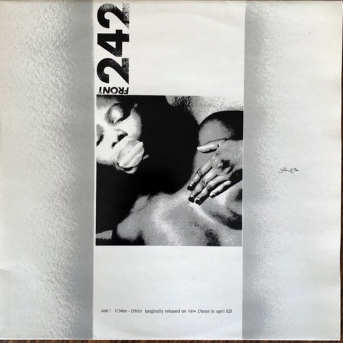 FRONT 242 Two In One (New Dance - Belgium 1986 reissue) (EX/VG+) 12""