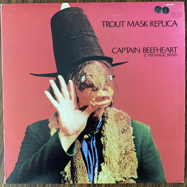 CAPTAIN BEEFHEART & HIS MAGIC BAND Trout Mask Replica (Reprise - USA 1977 reissue) (VG+/EX) (NWW List) 2LP