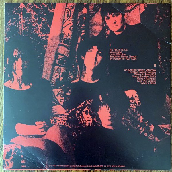 MY BLOODY VALENTINE Things Left Behind (Independent - Germany unofficial release) (VG) LP