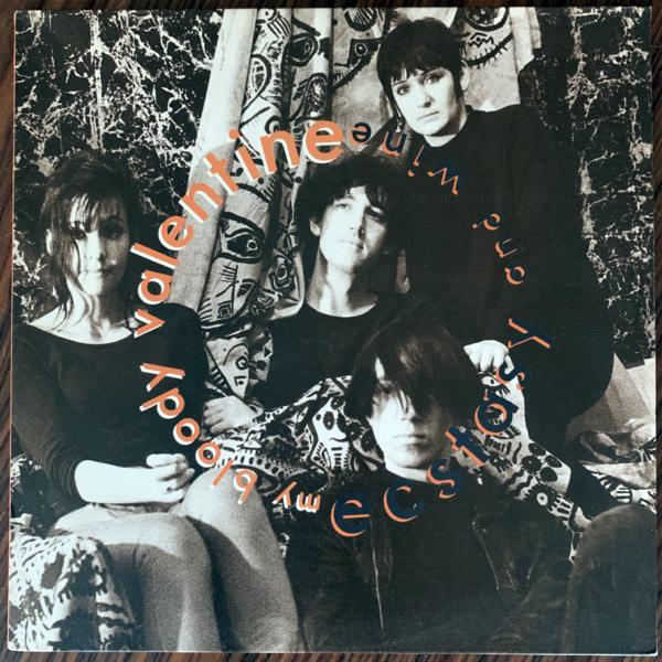 MY BLOODY VALENTINE Ecstasy And Wine (Lazy - UK original) (EX/VG+) LP