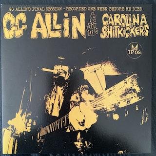 "GG ALLIN & THE CAROLINA SHITKICKERS Layin' Up With Linda (Purple vinyl) (TPOS - USA reissue) (EX/NM) 7"""