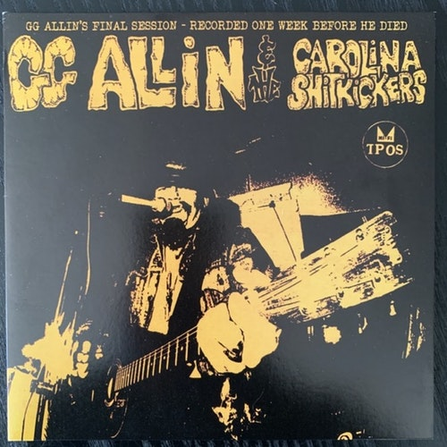 GG ALLIN & THE CAROLINA SHITKICKERS Layin' Up With Linda (Purple vinyl) (TPOS - USA reissue) (EX/NM) 7""