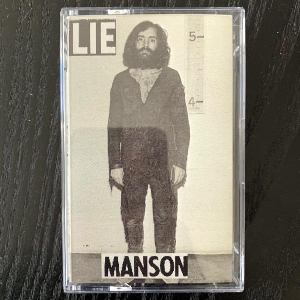 CHARLES MANSON LIE (TPOS - USA reissue) (NM) TAPE